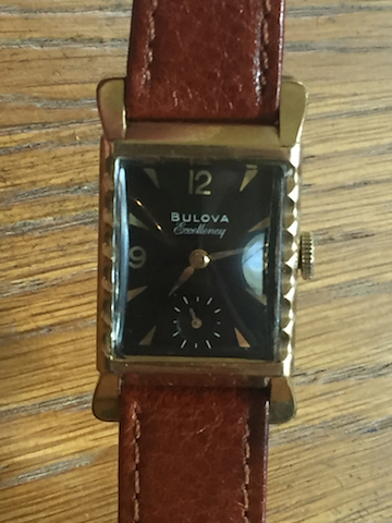 1952 Bulova His Excellency D watch