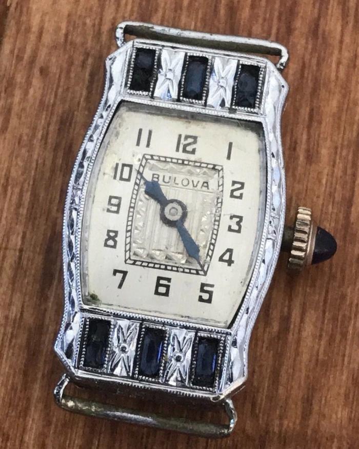 1930 Bulova Lucinda watch