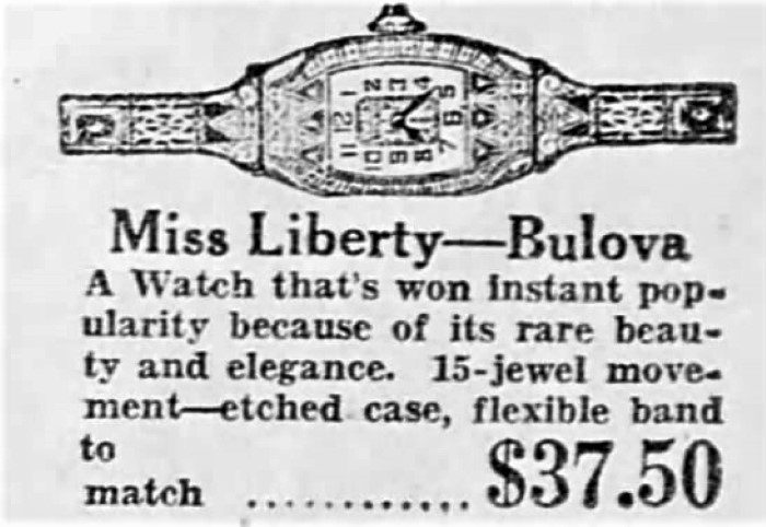 Bulova Mis Liberty