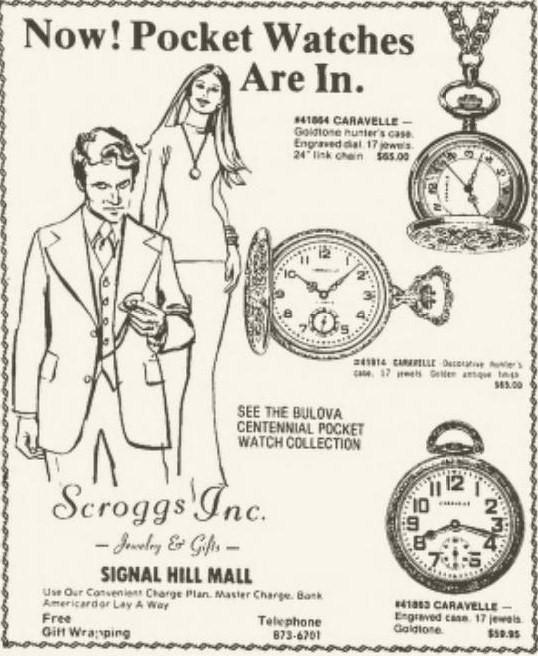 Bulova Centennial Pocket Watch collection