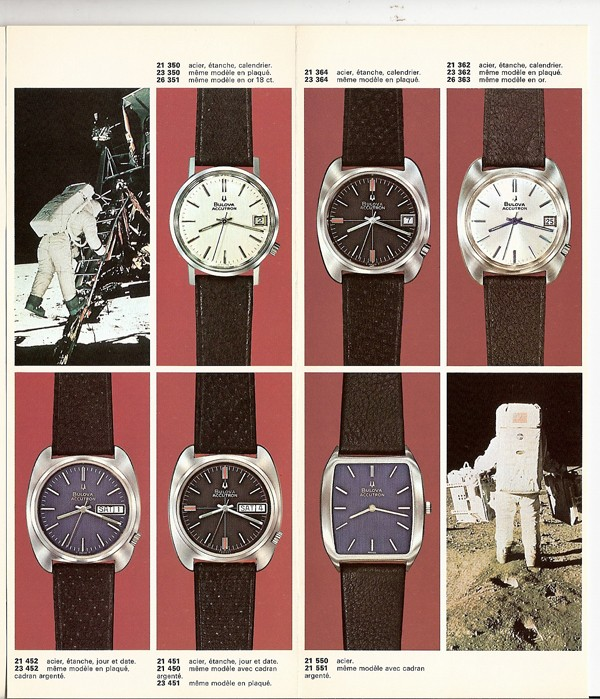 Bulova Accutron watches