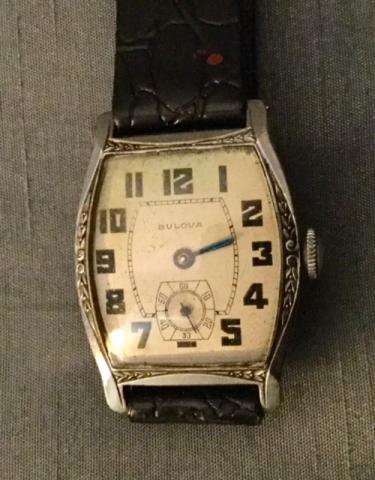 1929 Templan Bulova watch