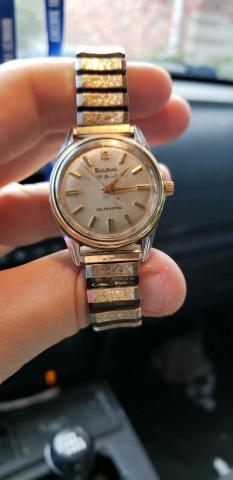 1962 Bulova 30 QW watch