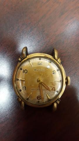 1951 Bulova Duo Wind G watch