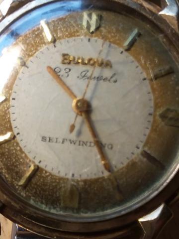 1958 Bulova watch 1958