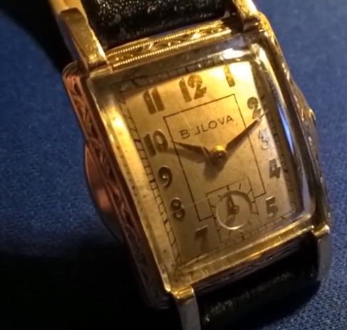 [1952] Bulova watch