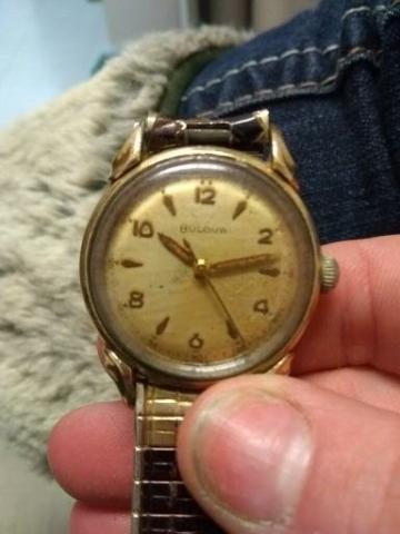 [1954] commodore Bulova watch