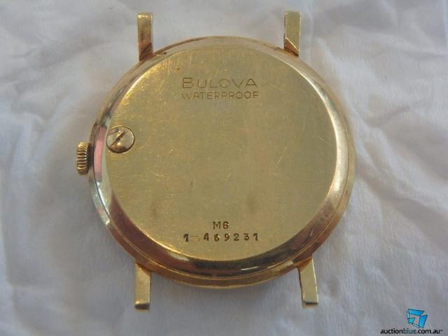 1966 Bulova watch