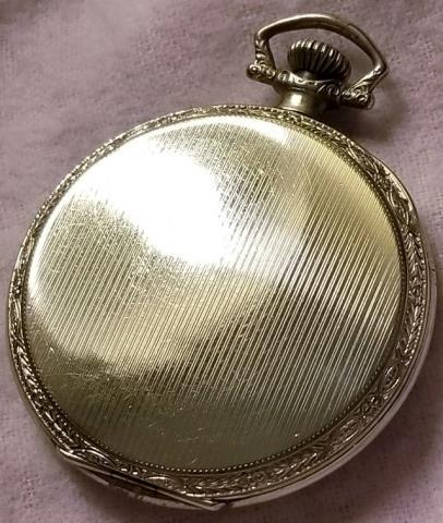 1926 Bulova Pocket Watch Back
