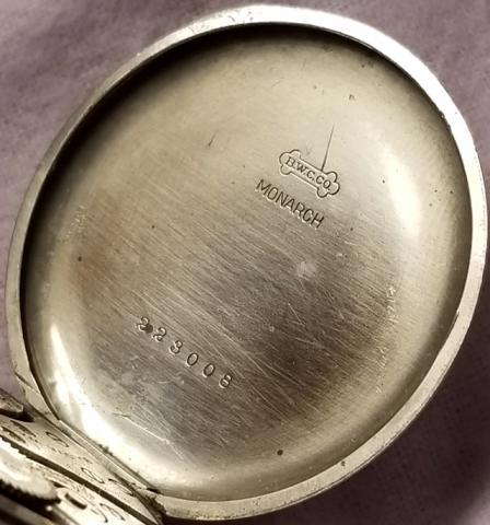 1926 Bulova Pocket Watch Inside Case