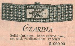 1926 Bulova Czarina watch