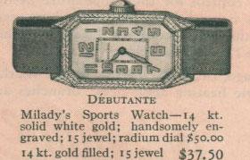 1926 Bulova Debutante watch