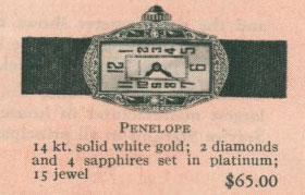 1926 Bulova Penelope watch