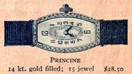 1926 Bulova Princine watch