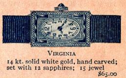 1926 Bulova Virginia watch