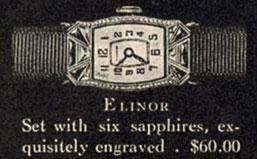 1927 Bulova Elinor watch