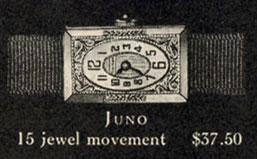 1927 Bulova Juno watch