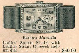 1927 Bulova Magnolia watch