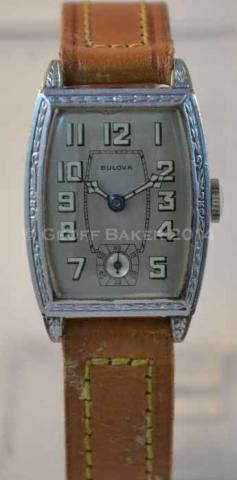 Geoffrey L Baker 1928 Bulova Templar watch 12 27 2014