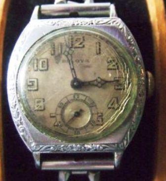1928 Bulova Conqueror watch