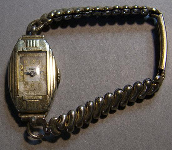 Bulova watch 1928