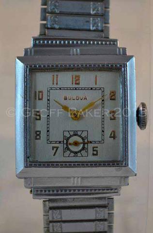 Geoffrey Baker 1929 Bulova Nickel Dress watch 11 11 2013