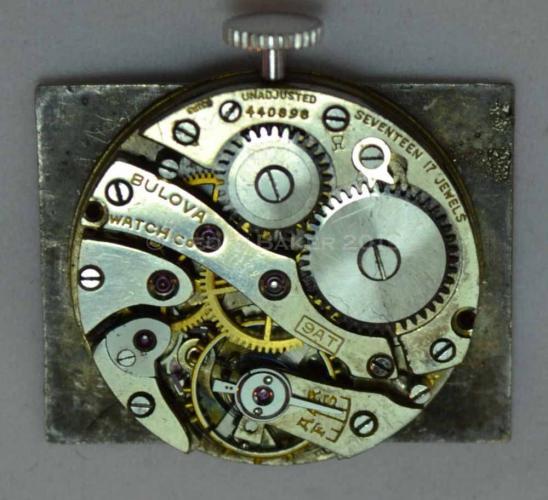 1930 Bulova Unknown Watch Geoffrey L Baker 3 4 2019