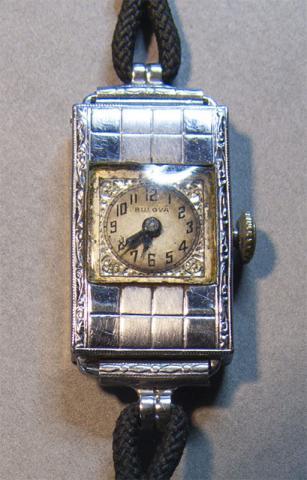 Bulova watch 1929