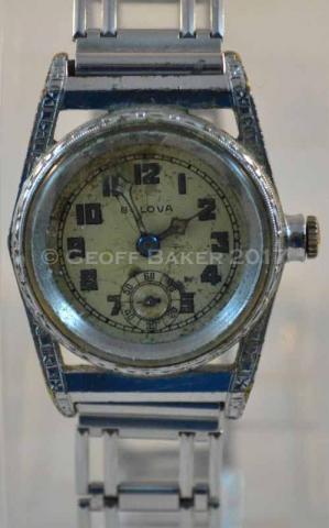 1929 Bulova Watertite watch