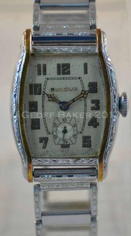 1931Bulova Apollo watch Geoffrey Baker