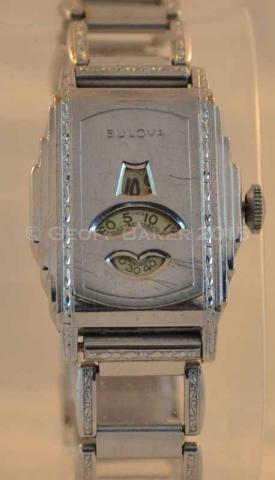 Geoffrey Baker 1932 Bulova White Prince Watch 02232016