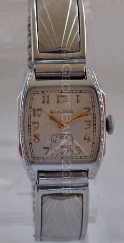 Geoffrey L Baker 1933 Bulova Trident White Gold 11 20 2013