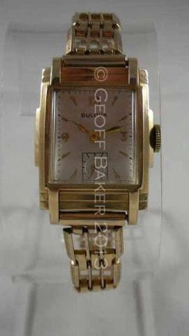 Geoffrey Baker 1937 Bulova Doug Corrigan Watch 11 21 2013