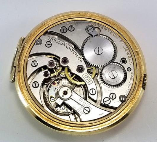 1939 Bulova Pocket Watch