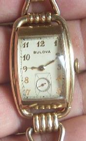 1940 Ambassador A Bulova watch