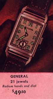 Bulova General watch