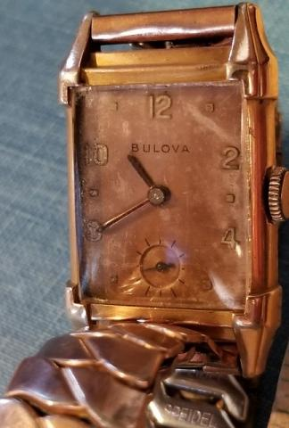 1946 Bulova Director watch