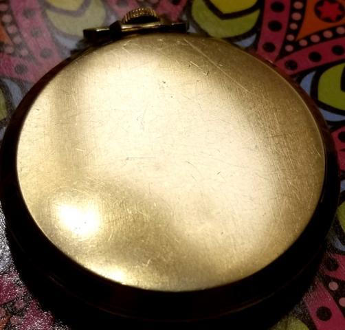 1947 Bulova Solid Gold Pocket Watch