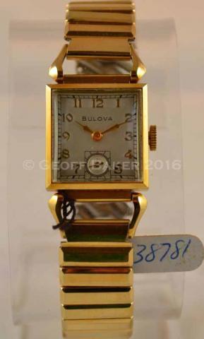 1949 Bulova Conrad Watch Geoffrey Baker