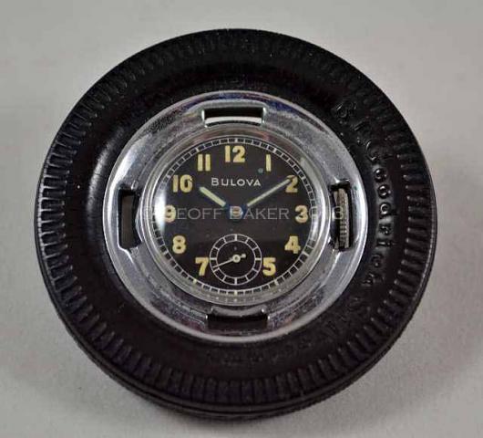 Geoffrey Baker 1950 Bulova Goddrich TIRE Watch 11 21 2013