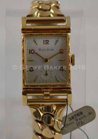1950 Bulova Photo Watch B Geoffrey L Baker 10/1/2016