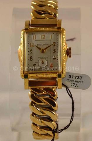 1951 Bulova Treasurer Geoffrey L Baker 10/01/2016