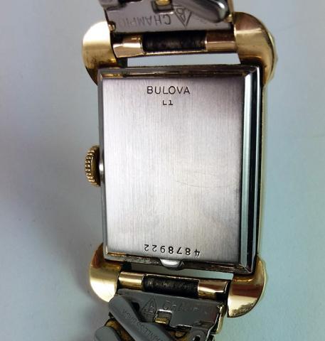 1952 Bulova watch