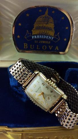 """1952 Bulova President """"A"""""""