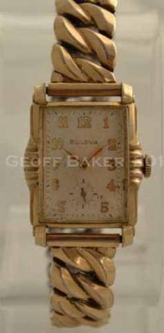 Geoffrey Baker 1953 Bulova President Original Case 12 04 2013