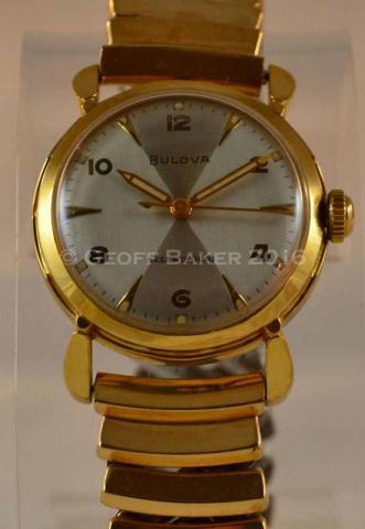 1954 Bulova Seaford watch Geoffrey Baker