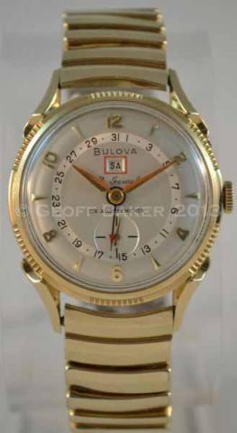 1955 Bulova 23 Calendar Watch Geoffrey L Baker 11 25 2012