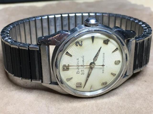 1958 Bulova 23 B watch