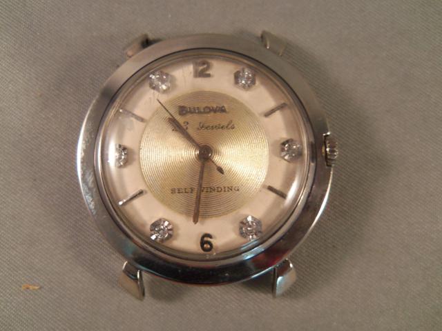 1959 Bulova Beau Brummel watch