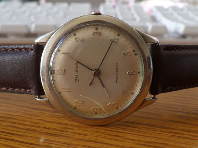 1959 Bulova Sea-king watch